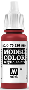 Vallejo Model Color 033 Rot / Red (926)