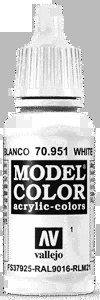 Vallejo Model Color 001 Weiß / White (951)