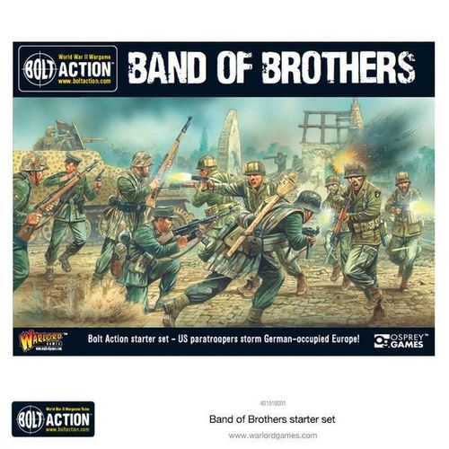 Bolt Action V2 Band of Brothers Zwei Spieler Starterbox