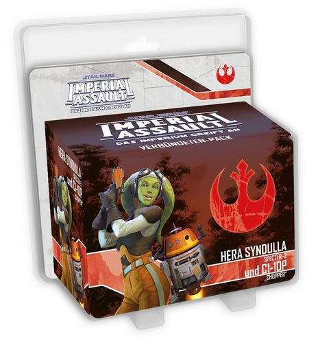 Imperial Assault - Hera Syndulla und C1-10P (Chopper)