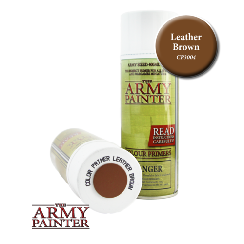 Primer Spray Leather Brown