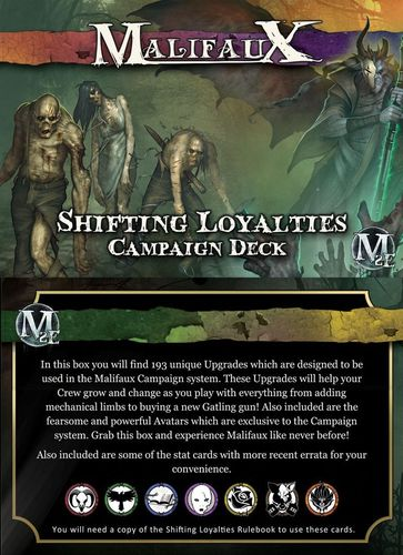 Shifting Loyalties Kampagnendeck [Englisch]
