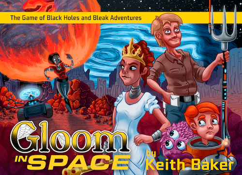 Gloom in Space (Englisch)