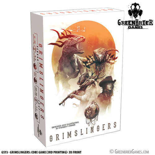Grimslingers 3rd Edition [Englisch]