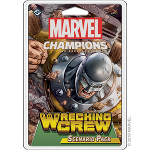 Marvel Champions: The Wrecking Crew Scenario Pack [Englisch]